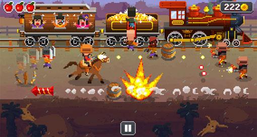 """Im kostenlosen Arcade-Shooter durch den """"Wild Wild West"""""""