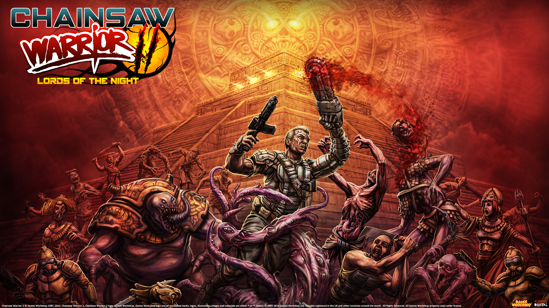 Chainsaw Warrior: Lords of the Night iPhone iPad