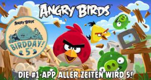 """Glückwunsch: Klassiker """"Angry Birds"""" erhält zum 5. BirdDay 30 neue Level"""