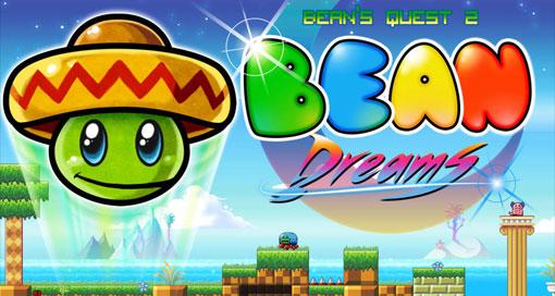 """Jump & Run """"Bean Dreams"""" & Geschicklichkeitsspiel """"Duet Game"""" nur je 0,99€"""