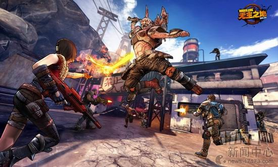 Borderlands Online iPhone iPad