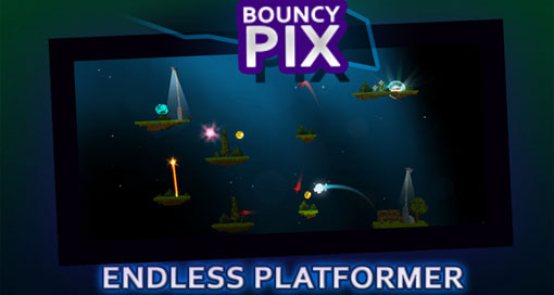 "Endlos-Plattformer ""BouncyPix"" schon kostenlos"