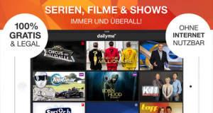 Dailyme TV: Fernsehen wann und wo du willst