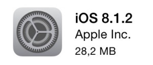 iOS 8.1.2 Update iPhone iPad