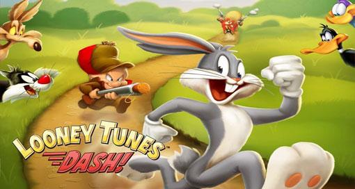 """Bugs Bunny & Co rennen in """"Looney Tunes Dash!"""" in den AppStore"""