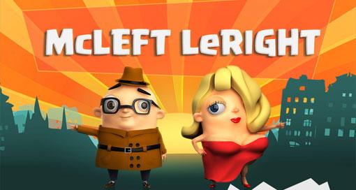 """Im Puzzle """"McLeft LeRight"""" steuerst du zwei Charaktere zeitgleich, aber spiegelverkehrt"""