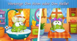 """Mein Om Nom: süßer """"Cut the Rope""""-Star als virtuelles Premium-Haustier"""