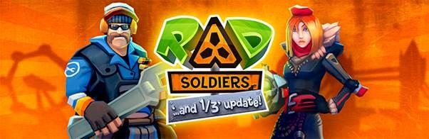 RAD Soldiers iPhone iPad