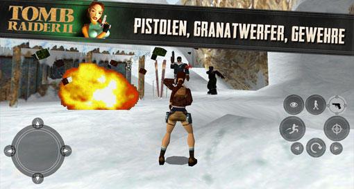 """""""Tomb Raider II"""" im AppStore erschienen"""