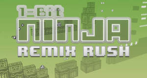 """1-bit Ninja Remix Rush"" im AppStore erschienen: Endless-Runner & Gameboy-Hommage in einem"