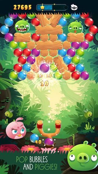 Angry Birds Stella POP! iPhone iPad