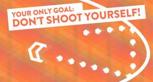 """Schwieriges Arcade-Game """"Don't Shoot Yourself!"""" ist nun Gratis-Download & mehr Neuerungen per Update"""