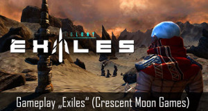 "Angespielt: RPG ""Exiles"" von Crescent Moon Games im Gameplay-Video"