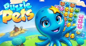 """Gamelofts neues Match-3-Puzzle """"Puzzle Pets"""": putzige Tierbabys und gewohntes Gameplay"""