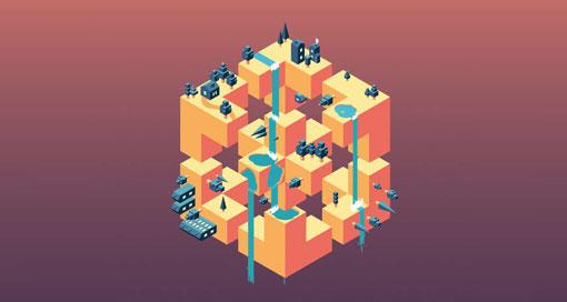 """""""Skyward"""" sieht aus wie """"Monument Valley"""", ist aber ein neues Highscore-Spiel"""