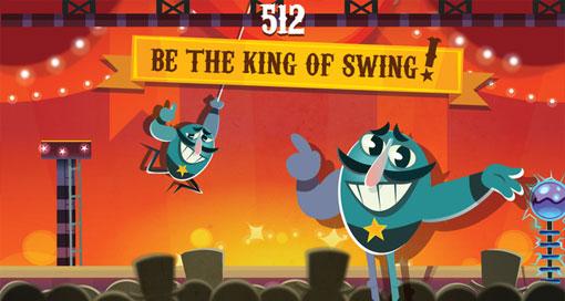 """""""Swinging Stupendo"""" ist ein frustrierend schwerer Highscore-Schwinger"""