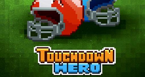 """In """"Touchdown Hero"""" rennst du von Touchdown zu Touchdown"""