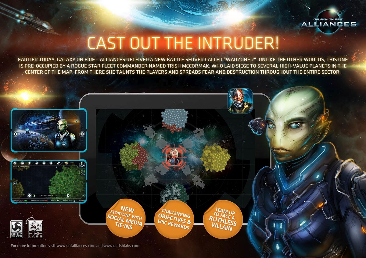 Galaxy on Fire - Alliances iPhone iPad