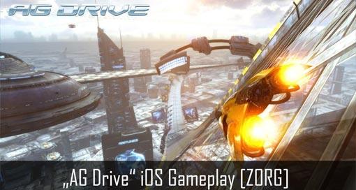 """Wipeout-Klon """"AG Drive"""" in den AppStore gerast & unser Gameplay-Video"""