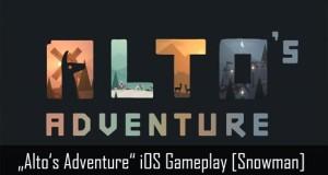"""Angespielt: das Donnerstag erscheinende Snowboarding-Game """"Alto's Adventure"""" im Gameplay-Video"""
