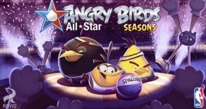 """Angry Birds Seasons"" für iPhone & iPad kostenlos & mit 15 neuen NBA All Star-Level (Update)"