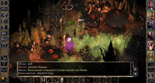 """RPG-Klassiker """"Baldur's Gate II"""" jetzt auch für iPhone & in deutscher Sprache"""