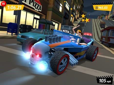 Crazy Taxi City Rush iPhone iPad
