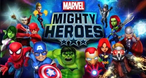 """Die """"Marvel Mighty Heroes"""" prügeln sich seit heute durch den AppStore"""