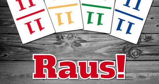 """Kartenspiel """"Raus!"""" für 1 bis 4 Spieler neu im AppStore"""