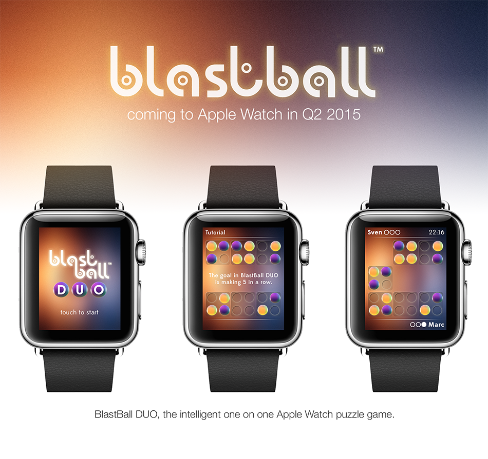 BlastBall MAX Apple Watch