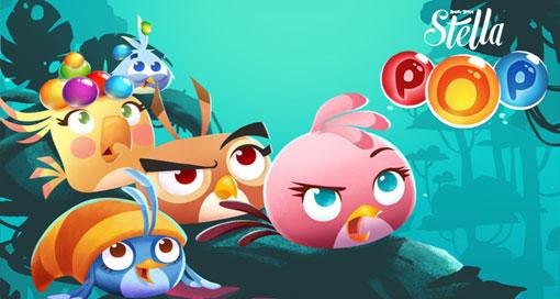 "Rovios Bubble-Popper ""Angry Birds Stella POP!"" ist nun weltweit verfügbar"