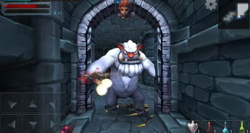 "Gelungener Dungeon Crawler ""Dungeon Hero RPG"" neu als Gratis-Download im AppStore"