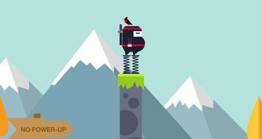 """Mit """"Spring Ninja"""" ist ein neues Highscore-Spiel von Ketchapp in den AppStore gesprungen"""
