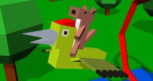 Super WeaselPecker: Air Ride – das iOS-Game zum #WeaselPecker-Twitter-Hype