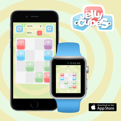 Jelly Cubes iOS