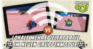 """""""Angry Birds Go!"""" erhält lokalen Mehrspieler-Modus"""