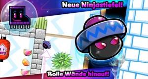 """""""Bean Dreams"""" erhält 18 weitere Level, neue Ninjastiefel, Metal-Grafik und mehr"""