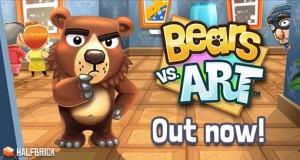 """Halfbricks neues Puzzle """"Bears vs. Art"""": ein Bär im Zerstörungswahn"""