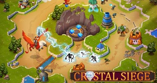 """Tower-Defense-Spiel """"Crystal Siege"""" ist jetzt Universal-App, weitere Neuerungen & immer noch reduziert"""