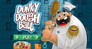 Dunky Dough Ball: kostenloser Küchen-Platformer mit einer Teigkugel