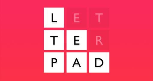 """NimbleBit veröffentlicht neues Wortspiel """"Letterpad"""" im AppStore"""