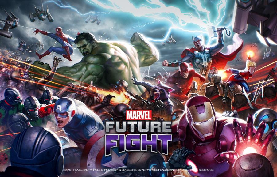 Marvel Future Fight iOS