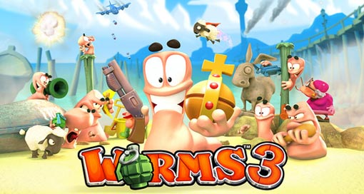 Worms 3 iPhone iPad