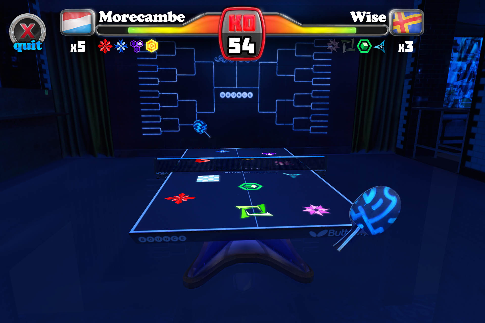 Table Tennis Touch iPad