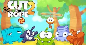 "Spiele-Hits ""Cut the Rope 2"" & ""Cut the Rope: Time Travel"" im 99-Cent-Angebot"