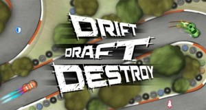 Drift Draft Destroy: Fun-Racer als Online-Duell zwischen 4 Fahrern