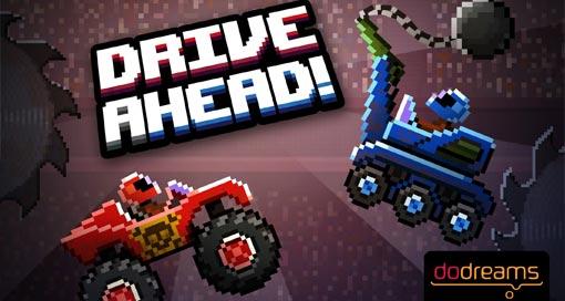 """""""Drive Ahead!"""" ist ein Multiplayer-Game mit Autos verrückten Arenen"""