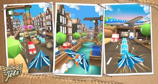 """KLM veröffentlicht neuen Endless-Flyer """"Jets – Flying Adventure"""" im AppStore"""
