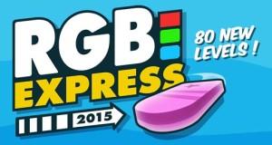 """80 neue, kostenlose Level für tolles Puzzle """"RGB Express"""""""
