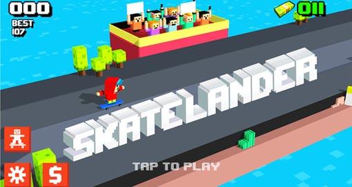 """Skatelander – Endless Arcade Skateboarding"" neu im AppStore"